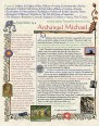 Archangel Michael Biographical scroll