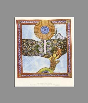Hildegard von Bingen print